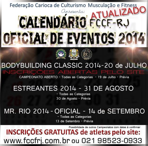 calendário 2014 atualizado