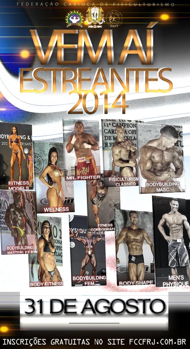 cartaz estreantes 2014