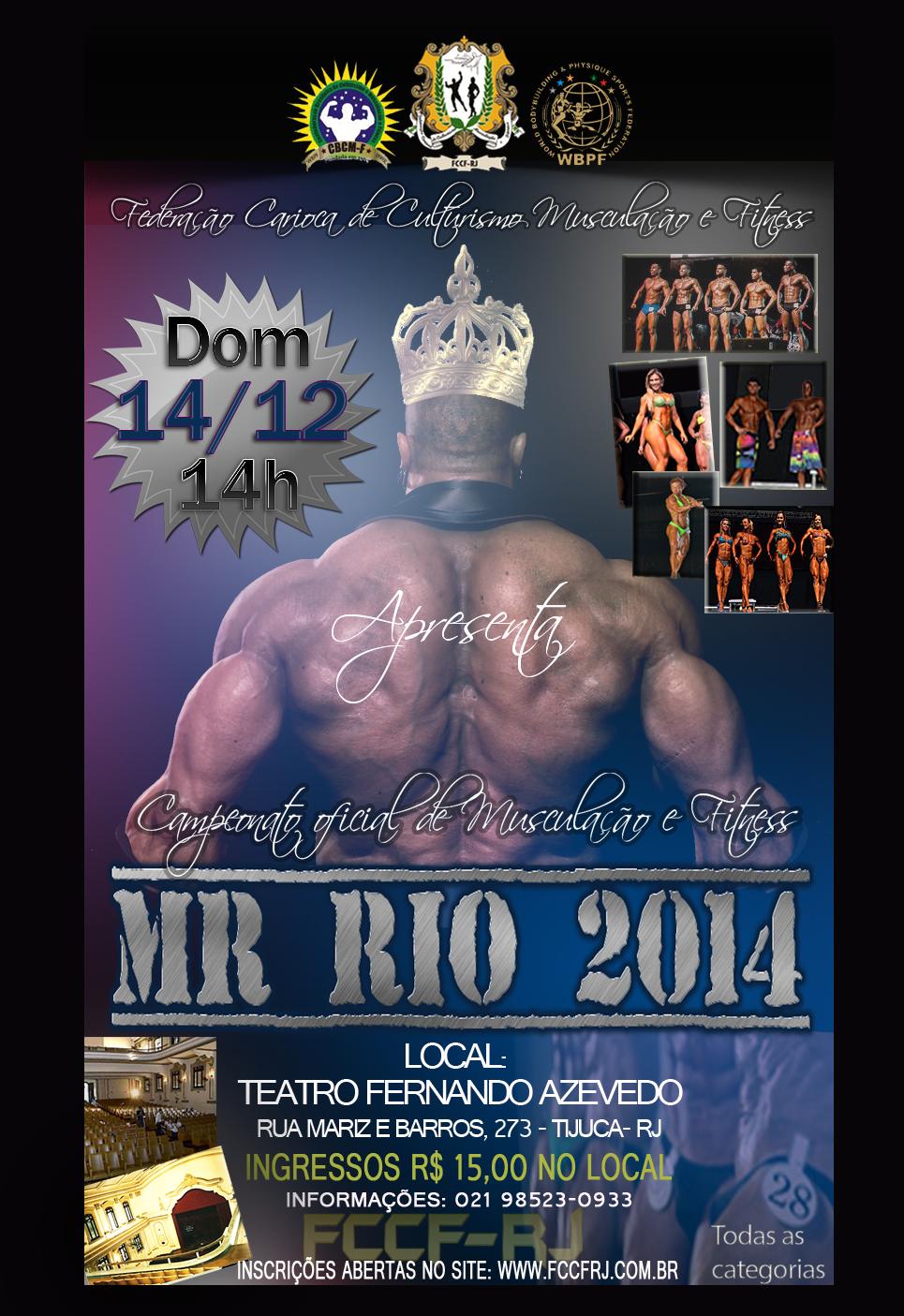 cartaz mr rio 2014