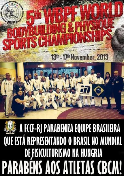 Mundial Hungria Delegação Brasileira 2013